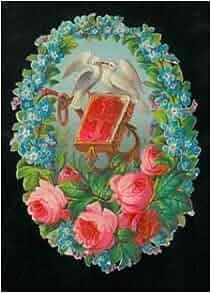 rose, colombe e libro animato al centro.: N.A. -: Amazon.com: Books