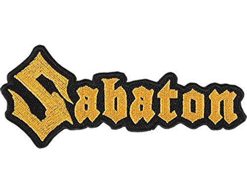 Sabaton Logo Cut Out Toppa / Patch