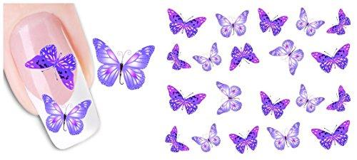 Aimeili - Adesivi per unghie, nail art fai da te, decorazioni eleganti