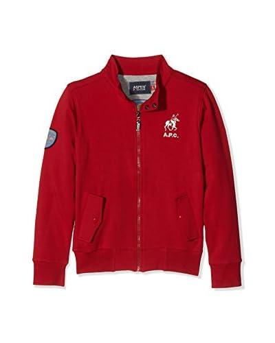 Aspen Polo Club Sweatjacke waldgrün