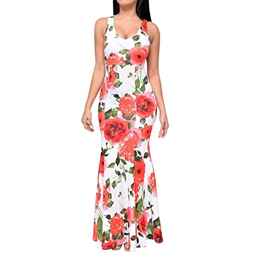 CoCo-Fashion-Womens-Floral-Printed-Cocktail-Party-Long-Dress