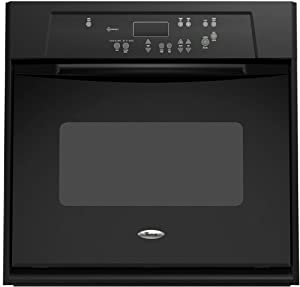 Whirlpool RBS245PRB 24″ Black Electric Single Wall Oven