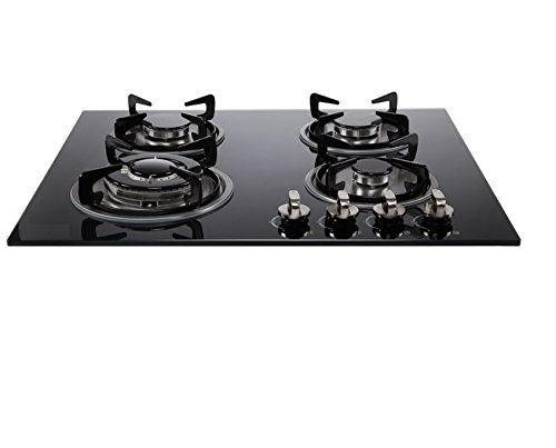 SMARTFLAME 4 Burner 4 Burner Glass Automatic Built in Hob
