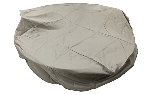 All Weather Outdoor Round Patio Furniture Covers Super Heavy Duty 3 Layers Th