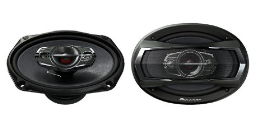 "Pioneer Ts-A6985R 6"" X 9"" (6X9) 4-Way Ts Coaxial Car Speakers"