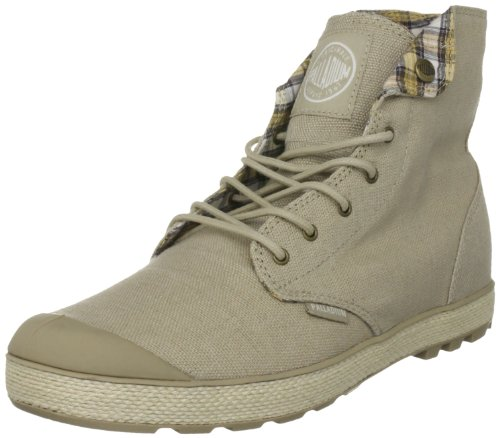 Palladium Men's Slim Snaps Safari/Off White Fashion Trainer 02835-232-M 10 UK