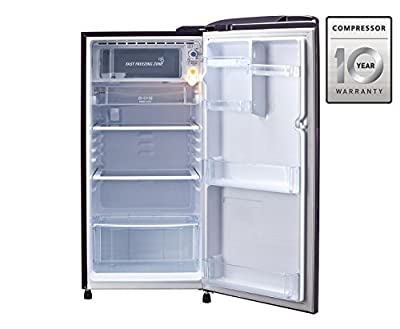 LG GL-B221APAN.DPAZEBN Direct-cool Single-door Refrigerator (215 Ltrs, 5 Star Rating, Purple Aster)