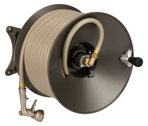 Rapid Reel Wall Mount Garden Hose Reel Model #1041-GH
