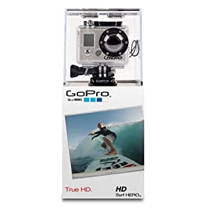 GoPro HD Surf Hero Caméscope numérique Full HD Port SD 5 Mpix Étanche 60 m USB