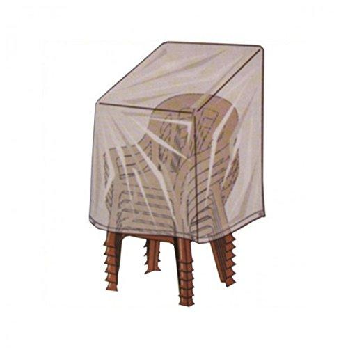 Winterfeste Schutzhülle für Gartenstühle Stapelstühle 112x74x60cm GRÜN bestellen