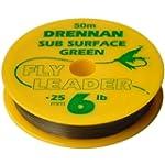 Drennan Sub Surface Green Fly Leader