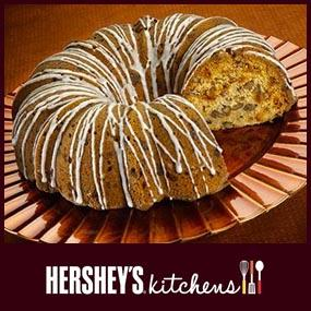 Hershey's Cinnamon Chip Applesauce Coffee Cake Recipe