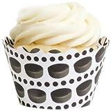 Dress My Cupcake Hockey Reversible Cupcake Wrappers Set of 12