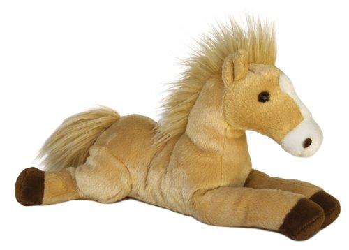 """Aurora World Inc 12"""" Butterscotch The Horse Flopsie"""