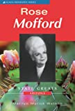 img - for Rose Mofford (Acacia Biographies) book / textbook / text book