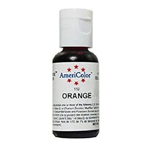Americolor Soft Gel Paste for Food Coloring, Orange