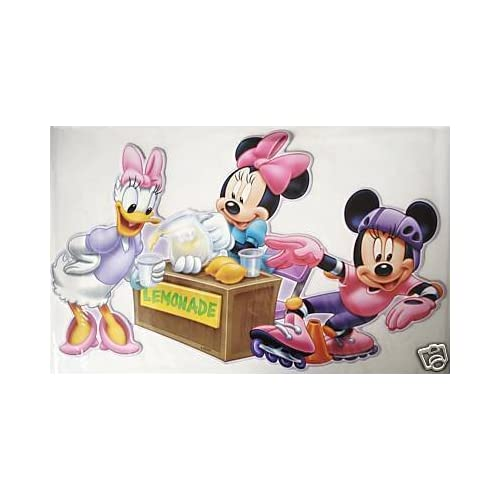 20 Mickey Minnie Mouse Removable Wall Stickers Decals