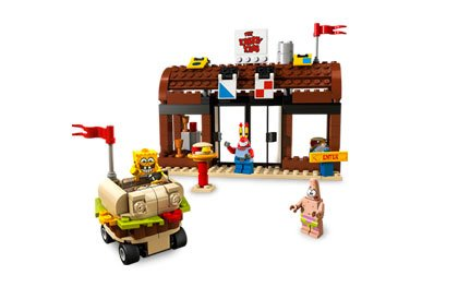 LEGO SpongeBob SquarePants Krusty Krab Adventures Amazon.com