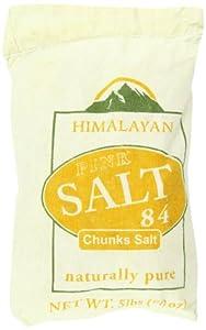 WBM Himalayan Chef Coarse Himalayan Salt Bag, 5 Pound