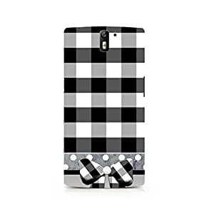 TAZindia Designer Printed Hard Back Case Cover For One Plus One