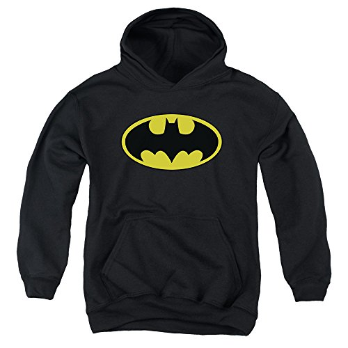Youth Hoodie: Batman - Classic Logo Pullover Hoodie Size YM