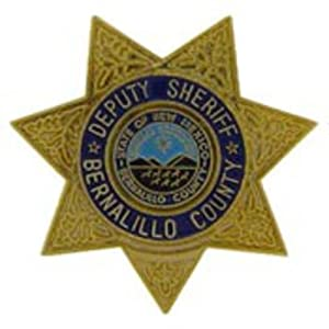 "Bernalillo County Deputy Sheriff Badge Pin 1"""