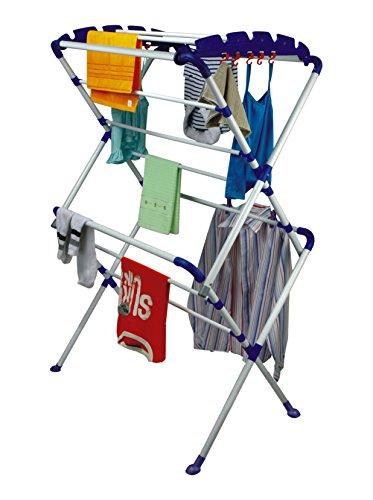 CiplaPlast Cloth Dryer Stand – Sumo + Free 14 Pcs Multipurpose Buffers