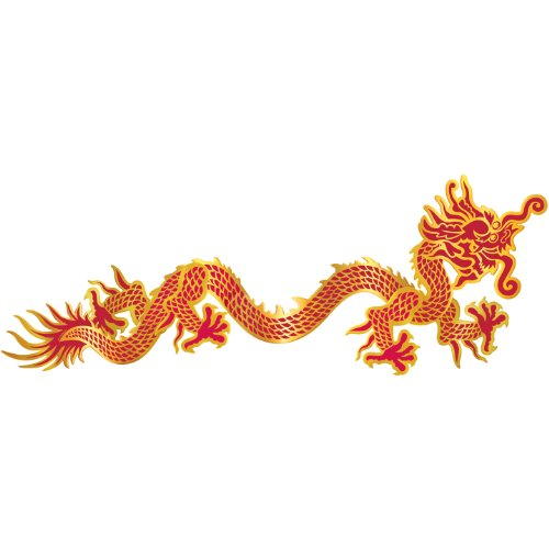 Beistle Chinese New Year Room Decorations | Jointed Dragon