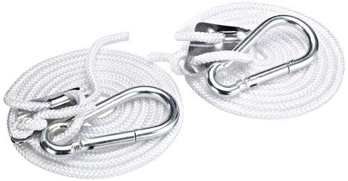 20058 Sturdy Hook Set for Hammocks Silver