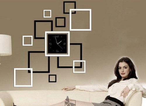 Diy Wall Clock Mirror Wall Clock Fashion Modern Design