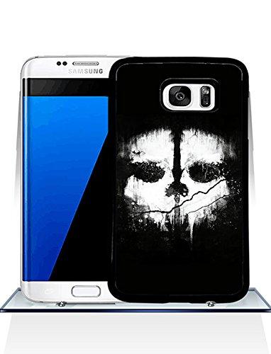 Call Of Duty Ghosts Logo Samsung S7 Edge CustodiaCase - Durable CustodiaCase & Cover {Drop Proof} +{Impact Resistant} CustodiaCase for Samsung Galaxy S7 Edge (Just fit for S7 Edge)