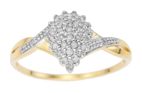 bijoux bagues or jaune bague femme or jaune 9 cts gr diamant t 58. Black Bedroom Furniture Sets. Home Design Ideas