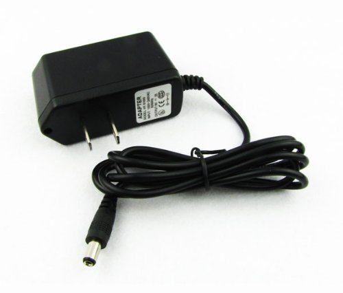 Ikn Power Supply Ac 100V-240V Adapter Cord Dc 9V 1A For Effect Pedal