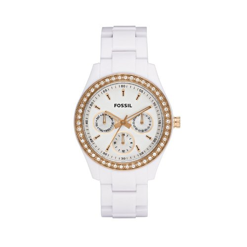 Fossil Ladies Multi-Eye Analogue Pu Stella Watch Es2869