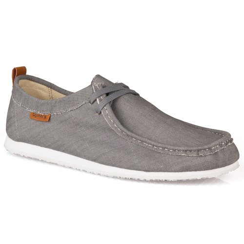 Djinns Schuhe W-LOW LINEN grey