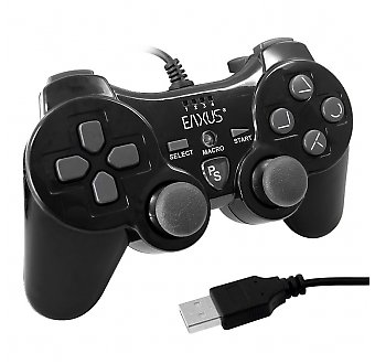 Playstation3 PS3 Doubleshock Controller / Gamepad Vibration EAXUS