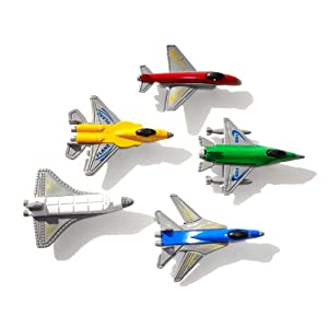 Toy Jet Fighters - Including the Space Shuttle, F-15 F-18 F-16 & F-4
