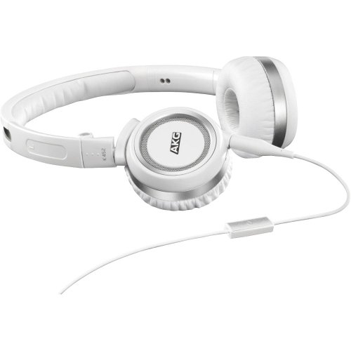 AKG Acoustics K452WHT HighPerformance OnEar Headphones  White Picture