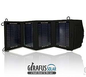 2 2a 2xusb 14w girafus universal solar ladeger t. Black Bedroom Furniture Sets. Home Design Ideas