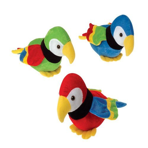 Plush Stuffed Animal Parrot (1)