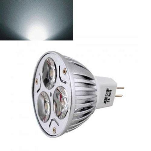 60 Degree Ultra Bright Mr16 6W Led Spot Light Downlight Lamp Bulb Pure White 12V F2Home Useful