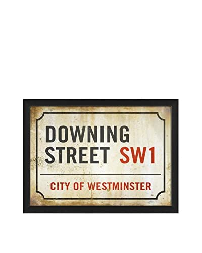 The Artwork Factory Downing Street Sign Print