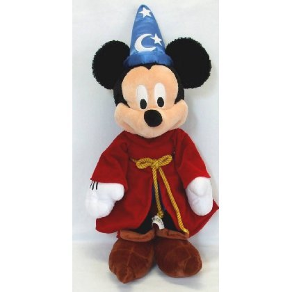 Disney's Fantasia Sorcerer's Aprentice Mickey Mouse Plush Toy - 20 Inch - 1