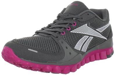 Reebok Women's Realflex Transition Cross-Training Shoe,Rivet Grey/Salty Grey/Condensed Pink,10.5 M US