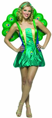 Rasta Imposta Women's Lightweight Peacock Costume