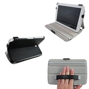 ProCase Samsung Galaxy Note 8.0 Case - Slim Fit Hard Folio Cover for Samsung Galaxy Note 8.0 Inch Tablet Wifi 3G 4G LTE w/ Auto Wake/Sleep GT-N5100 N5110 (Black)