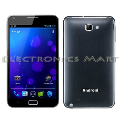 PAE8000 Unlocked Android 4.0.3 ICS Mobile Phone 5 inch Screen GSM 3G