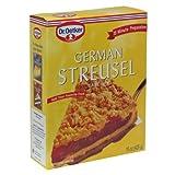 Dr Oetker, Mix Cake German Streusel, 15 OZ - Pack of 1