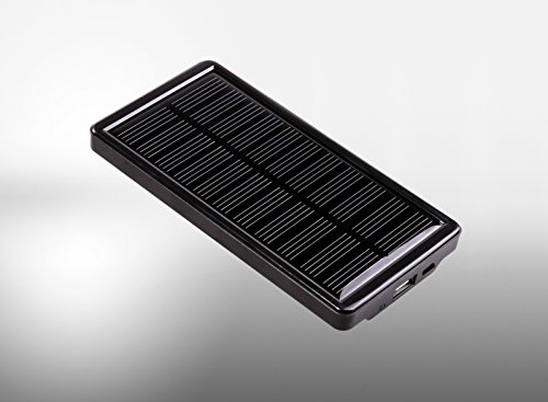 Ravin Solar Charger with Power Bank SC-018 1850 mAh and Wide Solar Panel for Fast Charging
