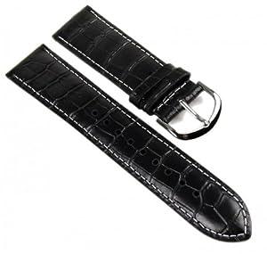 Casio Correa de Reloj cuero Band 22mm negro MTP-1308L marca Casio Correa de Reloj
